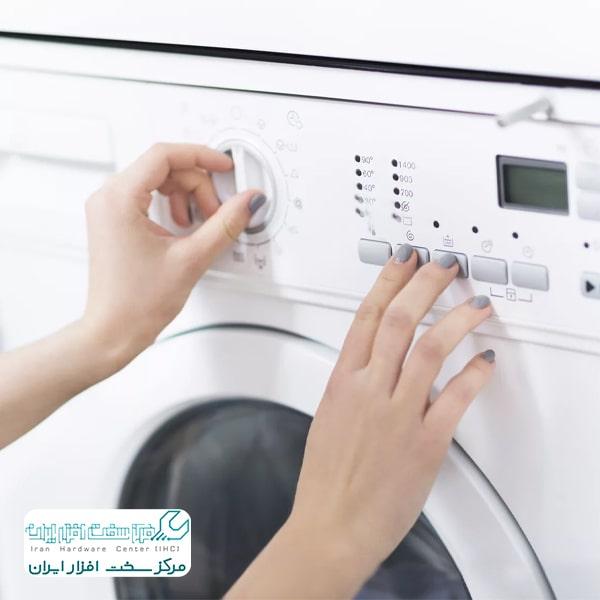 روشن نشدن ماشین لباسشویی ال جی