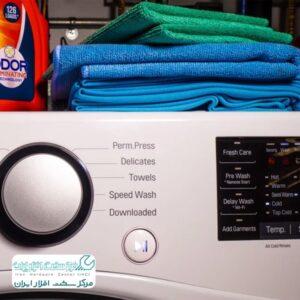 ریست کردن ماشین لباسشویی ال جی