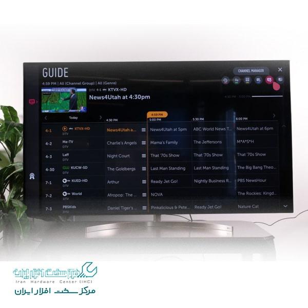 کانال یابی در تلویزیون های ال جی