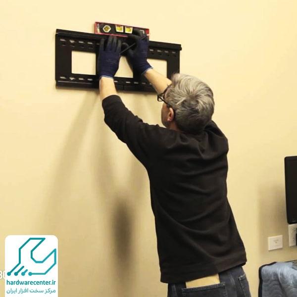 آموزش نصب تلویزیون به دیوار