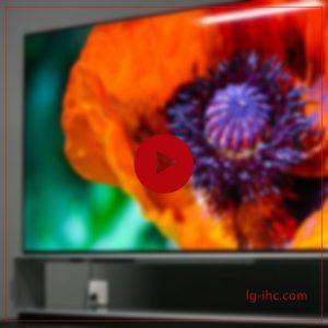 ال جی از تلویزیون منعطف در نمایشگاه ces2021