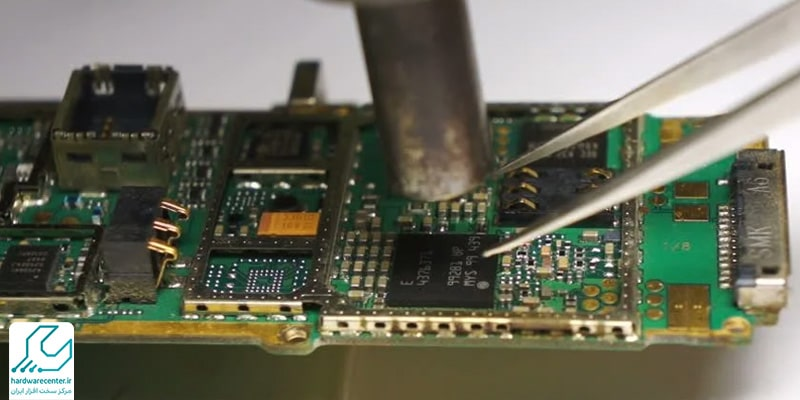 تعمیر برد موبایل ال جی