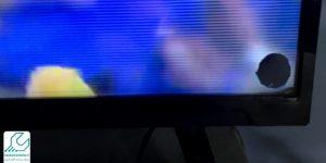 لکه سیاه روی تلویزیون ال جی